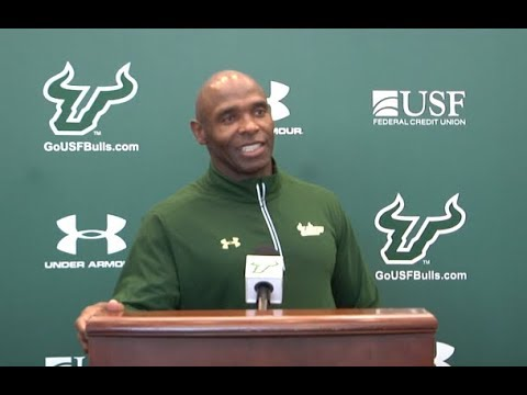 USF Football: Week 11 (Tulsa) Press Conference - Coach Strong