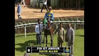 Fol Et Amour with David Allan up wins The Kalhatti Falls Plate Div 2 2019