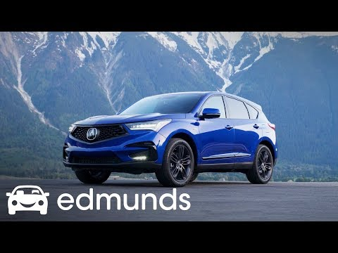 2019 Acura RDX First Drive | Edmunds