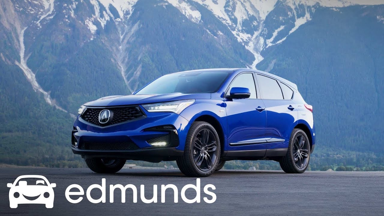 2019 Acura Rdx First Drive Edmunds Youtube 6 Cylinder Engine Review