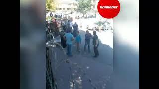 Konya Da Okul önünde şok Görüntüler Döner Bıçağıyla Kavga
