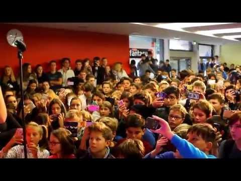 Radio Fantasy Schultage Deluxe: Wincent Weiss im Jakob-Fugger Gymnasium Augsburg