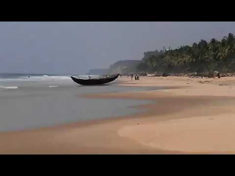 Ocean waves, Kerala, India