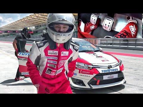 Vios Racecar Heel & Toe (Challenge) with Shawn Lee   Toyota Gazoo Racing Festival Malaysia