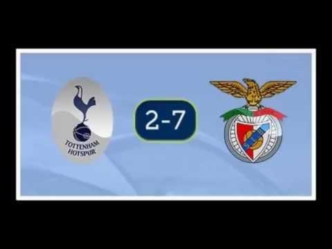 1° turno α) Tottenham 2-7 Benfica