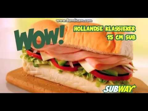 WOW! Nederland/Netherlands WOW! Subway Commercial - Eat Fresh!