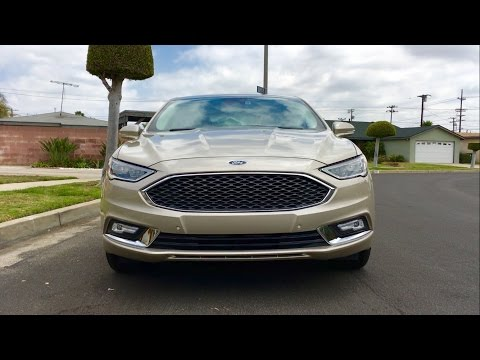 2017 Ford Fusion Platinum WALKAROUND