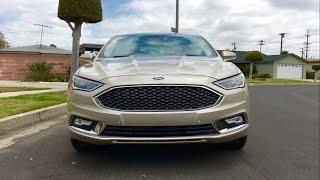 2017 Ford Fusion Platinum WALKAROUND