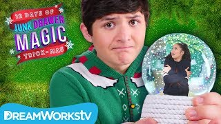 Akira TRAPPED in a Magical Snow Globe | JUNK DRAWER MAGIC 12 DAYS OF TRICKMAS