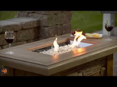 Sierra Linear Fire Pit Table