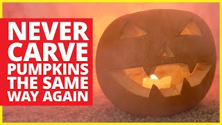 Power Tools Make Pumpkin Carving More Fun