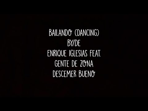 Enrique Iglesias - Bailando (English Translation) feat. Gente de Zona & Descemer Bueno