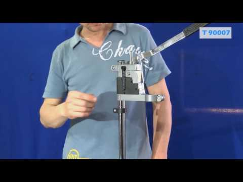 Регулируема стойка за бормашина  420 мм / Troy 90007 / видео