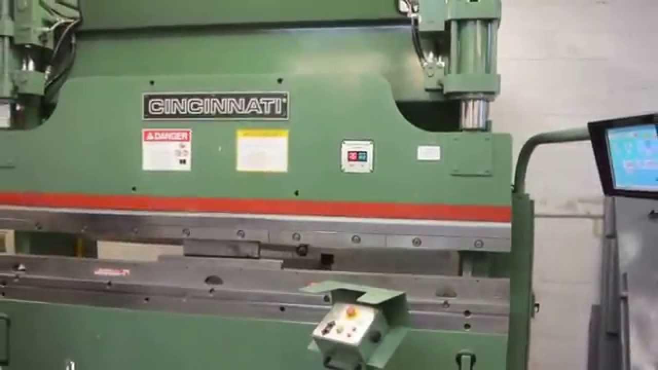 Cnc Machine For Sale >> 90 TON X 10' CINCINNATI PROFORM PRESS BRAKE - FOR SALE BY PRIDE MACHINERY - 631-586-5252 - YouTube