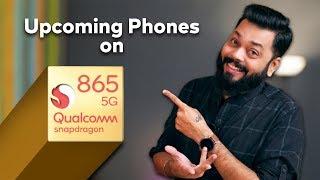 Top 10 Best Upcoming SD865 Powered Mobile Phones In 2020 ⚡⚡⚡गजब की परफॉर्मन्स