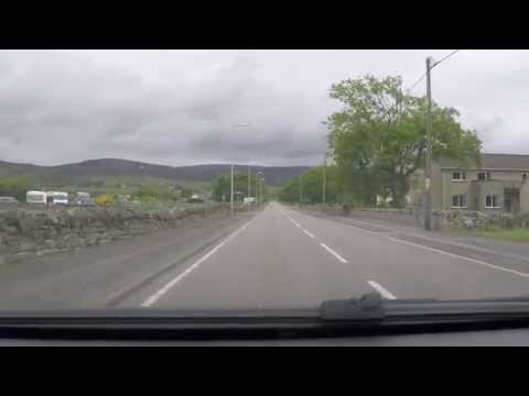 Brora, Sutherland, Scotland - By Car