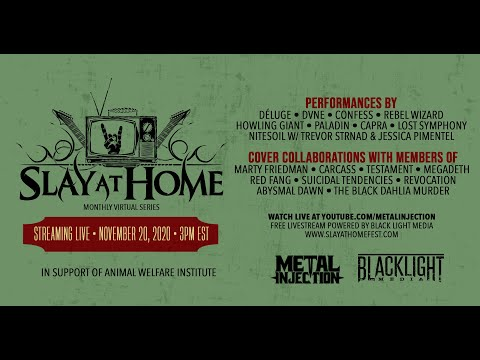 SLAY AT HOME Monthly (November) | Metal Injection