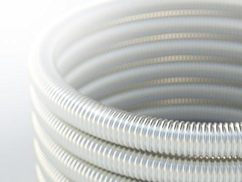Гофрированная труба из нержавеющей стали Neptun IWS
