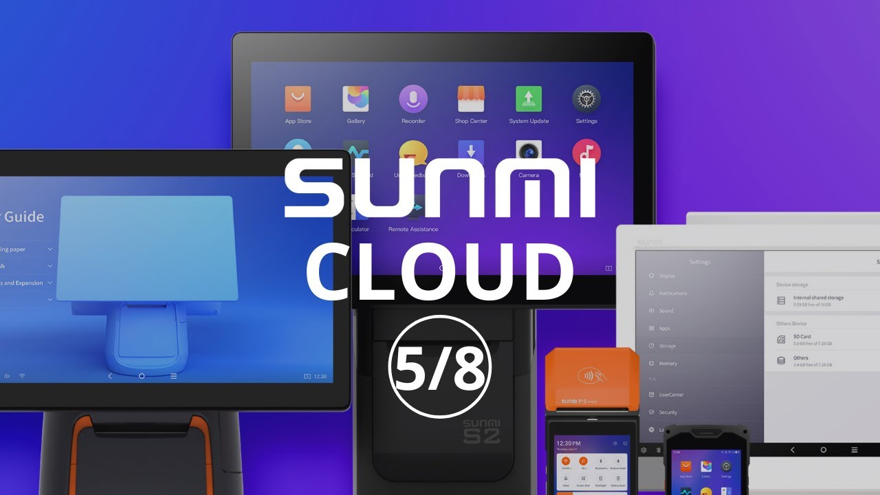 Repeat Sunmi Cloud- Exclusive Application Market by Sunmi