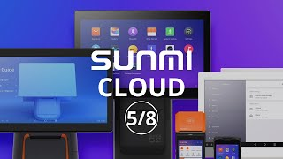 Through the app store development, you could debug and control all your sunmi devices at anywhere any time.
