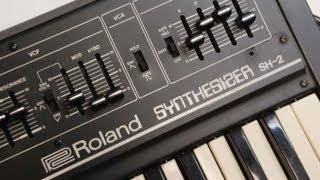 Roland SH-2 Monophonic Analog Synthesizer Demo
