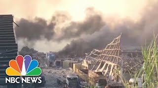 At Least 50 Dead in Beirut After Massive Explosion Causes Widespread Damage | NBC News NOW