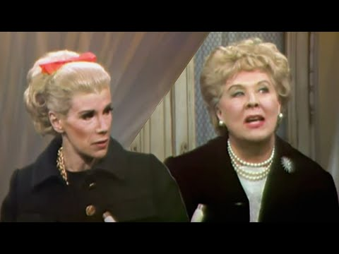 Vivian Vance on Joan Rivers  w Burlesque star Sherry Britton, 1968