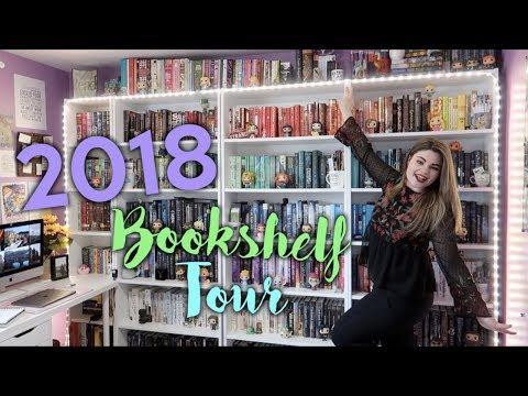 BOOKSHELF TOUR | 2018 (600+ books!!!)