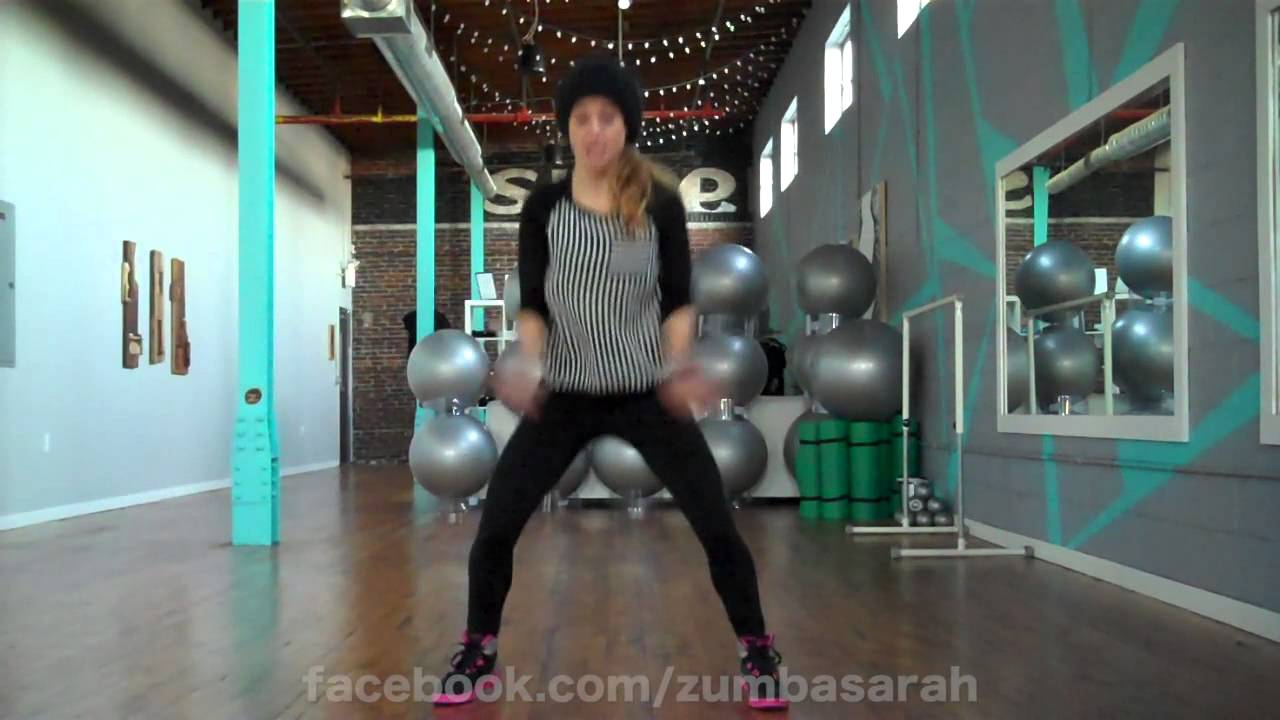 Dance Fitness with Sarah Placencia - Rockin Around the Christmas Tree/Jingle Bell Rock Medley ...