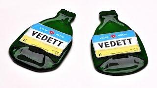 Derretendo garrafas de vidro