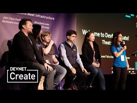 DevNet Create 2017: Day 2 Keynote Panel – Apps Meet Cattle