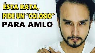 Músico y actor apoya a Ricardo Alemán, pide un Colosio para AMLO