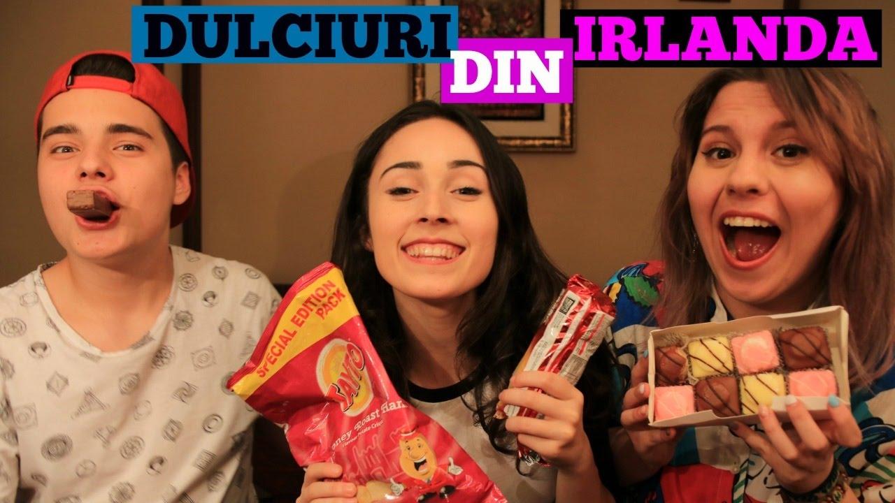 ANDRA INCEARCA DULCIURI DIN IRLANDA!!! | Cu SELLY si ANCA