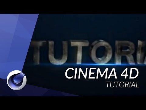 HOW TO CREATE AN INTRO WITH CINEMA 4D