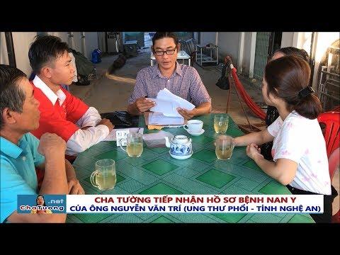 TIẾP NHẬN BỆNH UNG THƯ PHỔI - ÔNG NGUYỄN VĂN TRÍ (Giáo dân, Nghệ An) | Cha Phêrô Nguyễn Văn Tường