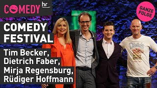 hr Comedy Festival vom 26.11.2019 mit Mirja, Tim, Rüdiger und Dietrich