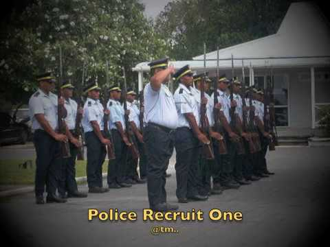 2017 POLICE RECRUIT ONE by Nabzy, Bwenaman - Kiribati@tm..