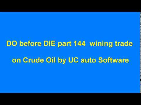 DO before DIE part 144 Automated Algo Trading Software from Ultachaal on MCX Crude Oil