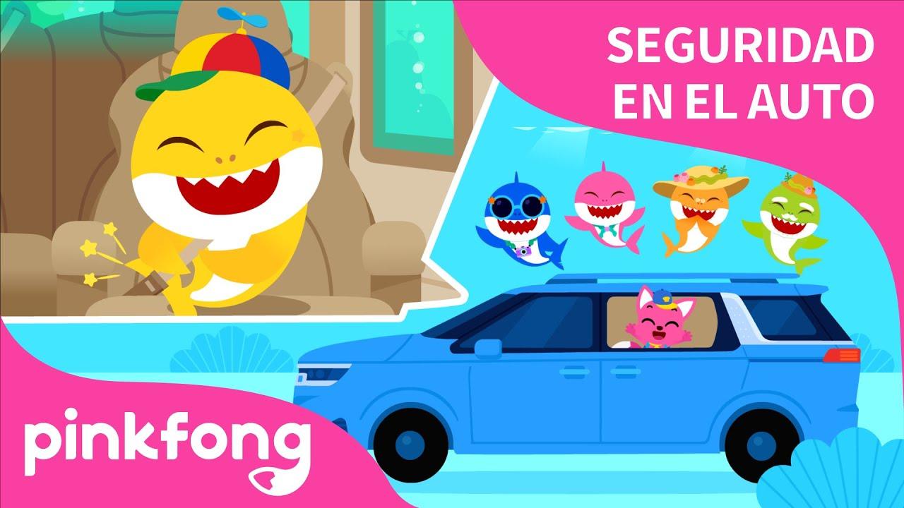 Seguridad junto a Tiburón Bebé | Kia X Pinkfong | Baby Shark | Kia Carnival |  Canciones Infantiles