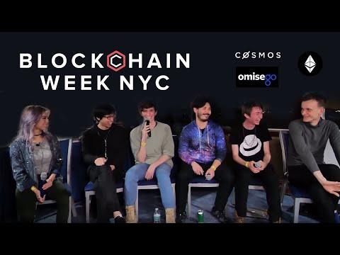 Cosmos TV   Cosmos, Ethereum, OmiseGO & Plasma Panel Blockchain Week