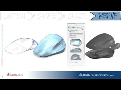 Webinar: Accelerating The Industrial Design Cycle in SOLIDWORKS Industrial Designer