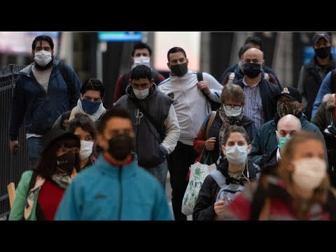 Evolución de la pandemia en Uruguay