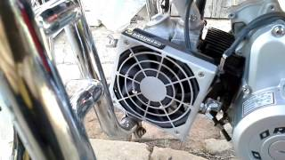 видео Как устроен ДВС с воздушным охлаждением?