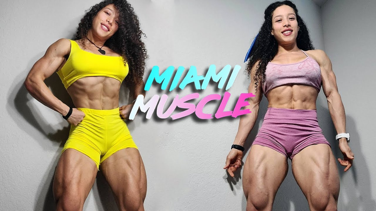 People Accuse Me Of Taking Steroids - But This Body Is 100% Natural | MIAMI MUSCLE