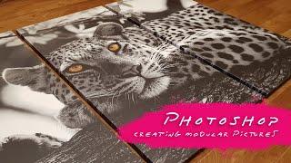 Photoshop   Подробная версия   СОЗДАНИЕ МОДУЛЬНЫХ КАРТИН   reissue 2