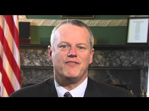 MA Governor Charlie Baker shows his support | Dana-Farber Cancer Institute