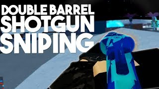 Double barrel shotgun sniping (Phantom Force) (roblox)