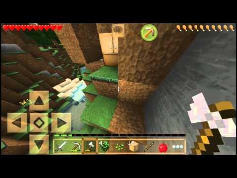 Jugando Minecraft Pe Serie Survival