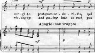Vivaldi: Nisi Dominus, RV 608 -  II. Vanum est vobis, III. Surgite - Scholl