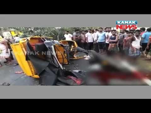 7 Killed In Road Mishap In Jagatsinghpur